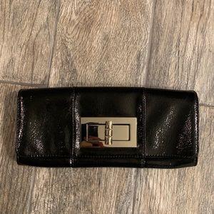 EUC Black Patent Leather Clutch